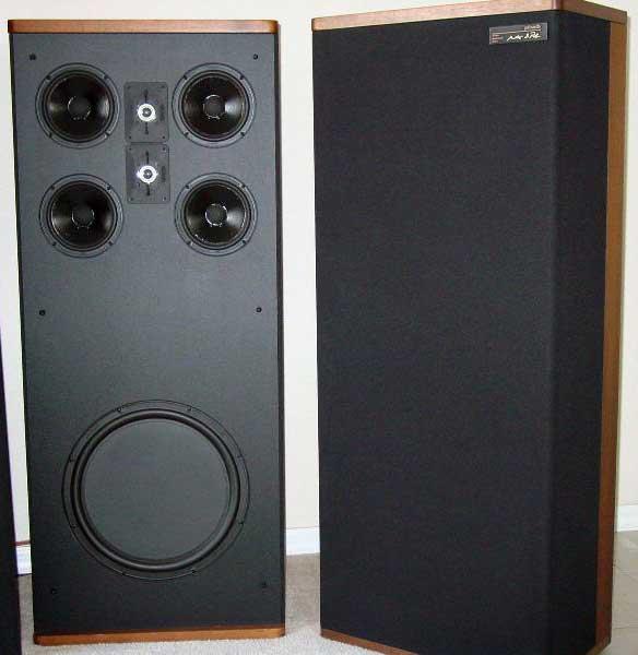 Polk Audio Stereo Dimensional Array Vintage Speakers